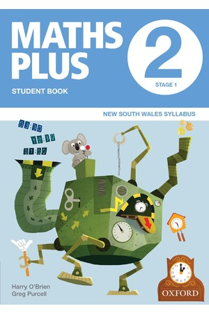 Maths Plus NSW Syllabus - Student & Assessment Book: Year 2