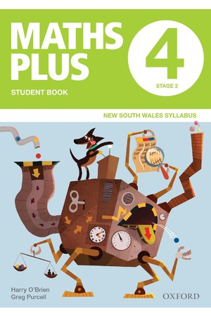 Maths Plus NSW Syllabus - Student & Assessment Book: Year 4