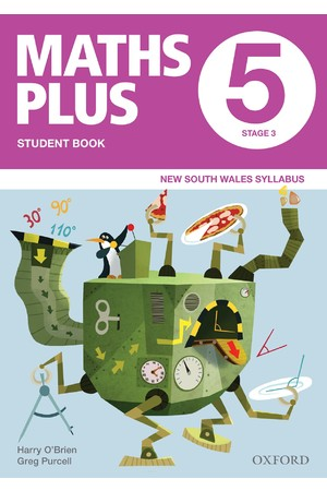 Maths Plus NSW Syllabus - Student & Assessment Book: Year 5