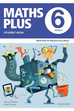 Maths Plus NSW Syllabus - Student & Assessment Book: Year 6