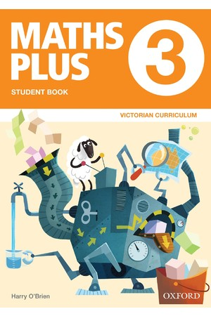 Maths Plus Victorian Curriculum Edition - Student & Assessment Book: Year 3