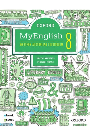 Oxford MyEnglish for WA Curriculum - Year 8: Student Book + obook/assess + Upskill (Print & Digital)