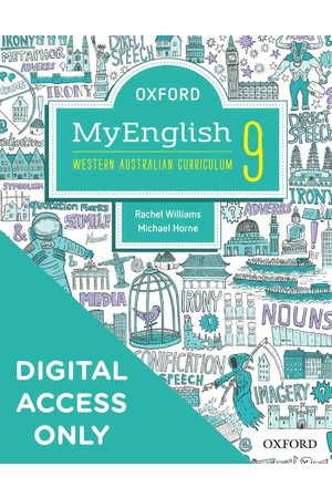 Oxford MyEnglish for WA Curriculum - Year 9: Student obook/assess + Upskill (Digital Access Only)