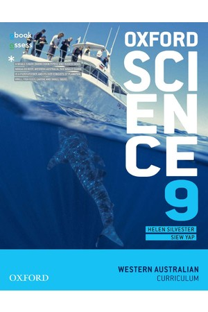 Oxford Science - WA Curriculum: Year 9 - Student Book + obook/assess (Print & Digital)