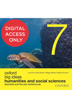Big Ideas Humanities & Social Sciences (WA Curriculum) - Year 7: Student obook/assess (Digital Access Only)