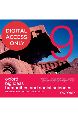 Big Ideas Humanities & Social Sciences (WA Curriculum) - Year 9: Student obook/assess (Digital Access Only)