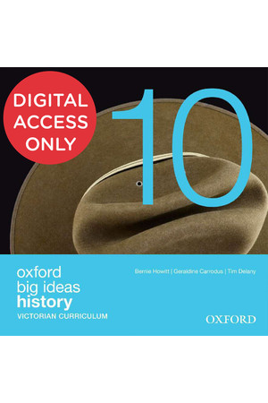 Oxford Big Ideas History - VIC Curriculum: Year 10 - Student obook/assess (Digital Access Only)