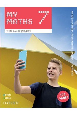 Oxford MyMaths VIC Curriculum - Year 7: Student Book + obook/assess (Print & Digital)