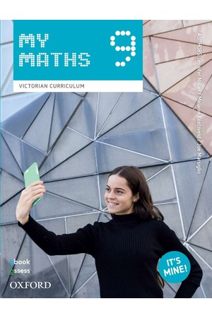 Oxford MyMaths VIC Curriculum - Year 9: Student Book + obook/assess (Print & Digital)