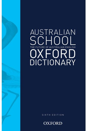 Australian School Dictionary - 6th Edition