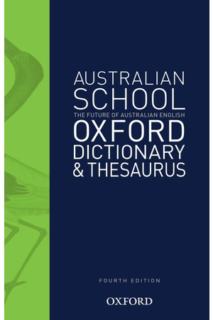 Australian School Dictionary & Thesaurus