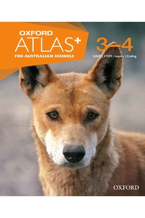 Oxford Atlas for Australian Schools - Years 3-4: Print Atlas