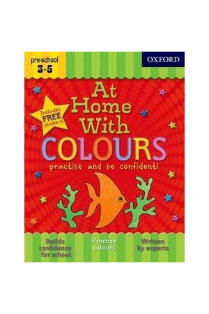 At Home With - Ages 3-5: Colours
