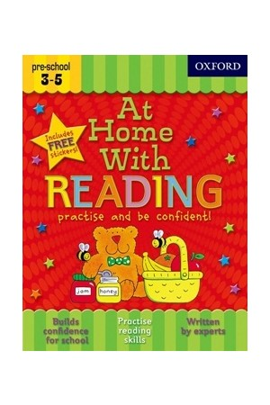 At Home With - Ages 3-5: Reading