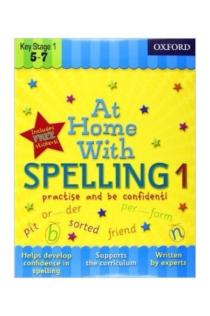 At Home With - Ages 5-7: Spelling 1