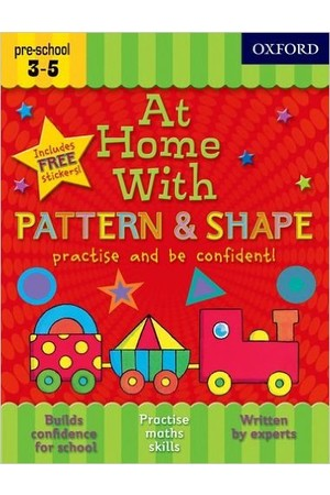 At Home With - Pattern & Shape: Ages 3-5