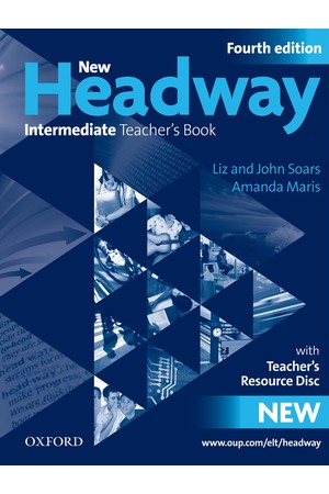 New Headway Intermediate Teacher's Book and Resource Disc