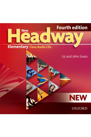 New Headway Elementary Class Audio CDs