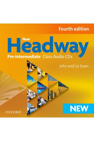 New Headway Pre-Intermediate Class CD (3 Discs)