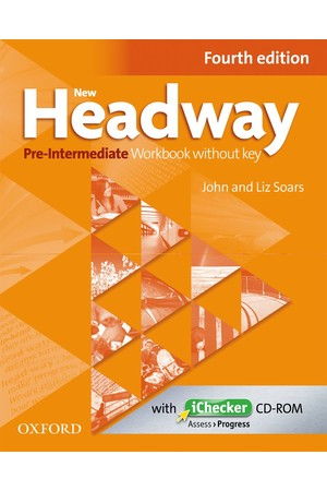 New Headway Pre-Intermediate Workbook Without Key & Audio CD Pack