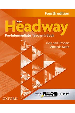 New Headway Pre-Intermediate Teacher's Resource Disc Pack
