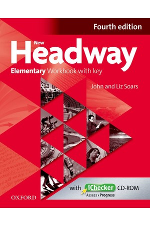 New Headway Elementary Workbook With Key & iChecker CD-ROM Pack