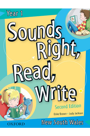 Sounds Right, Read, Write - New South Wales: Year 1