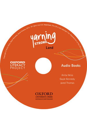 Yarning Strong - Audio CD: Land