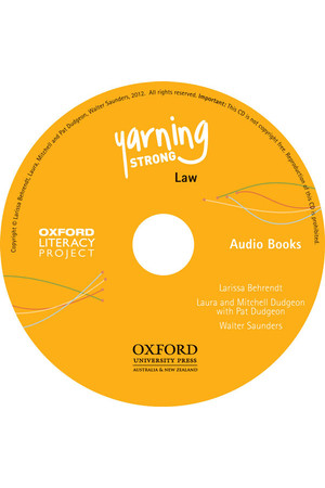 Yarning Strong - Audio CD: Law