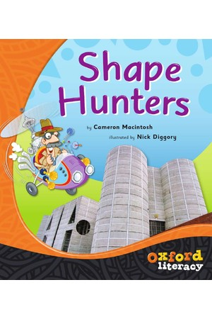 Oxford Literacy Guided Reading – Level 15-17 Non-Fiction: Shape Hunters (Single Book)