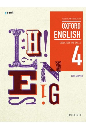 Oxford English 4 - Year 10: Student Book + obook/assess (Print & Digital)