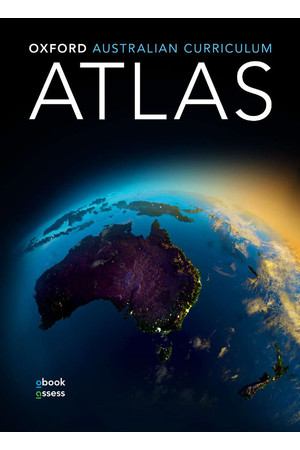 Oxford Australian Curriculum Atlas - Student Book + obook/assess (Print & Digital)