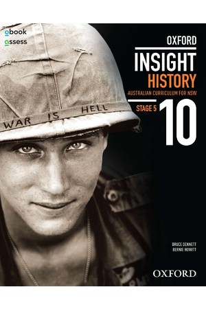 Oxford Insight History AC for NSW - Year 10: Student Book + obook assess (Print & Digital)