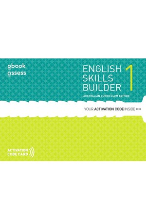 English Skills Builder 1 - Australian Curriculum Edition: Student obook/assess (Digital Access Only)