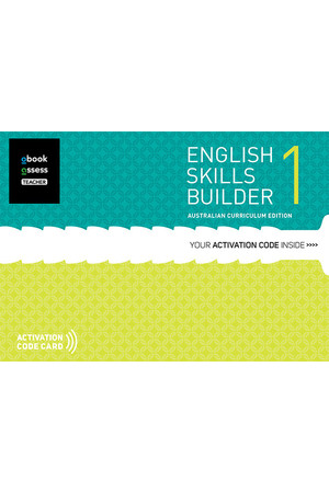 English Skills Builder 1 - Australian Curriculum Edition: Teacher obook/assess (Digital Access Only)