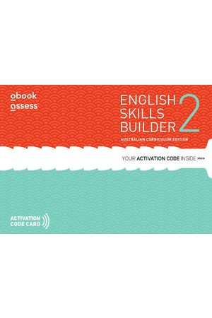 English Skills Builder 2 - Australian Curriculum Edition: Student obook/assess (Digital Access Only)