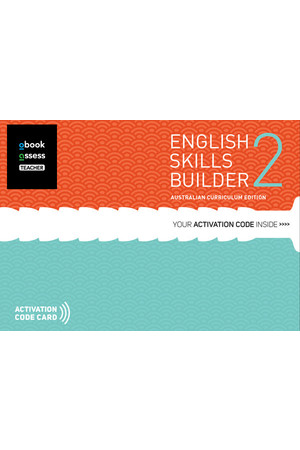 English Skills Builder 2 - Australian Curriculum Edition: Teacher obook/assess (Digital Access Only)