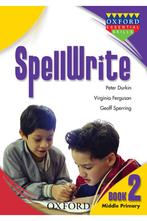 SpellWrite - Book 2: Middle Primary
