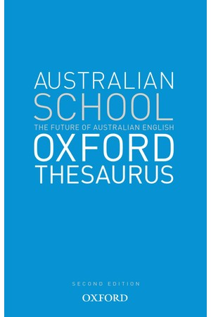 The Australian School Oxford Thesaurus