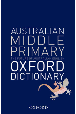 Australian Middle Primary Dictionary