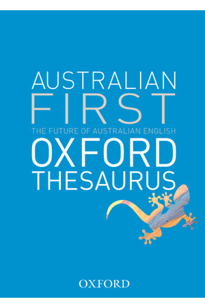 Australian First Oxford Thesaurus