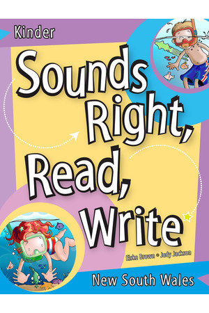Sounds Right, Read, Write - New South Wales: Kindergarten