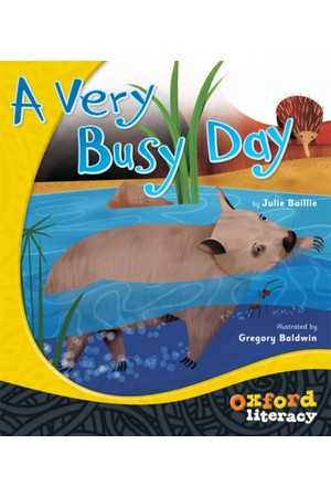 Oxford Literacy Guided Reading - Level 1 Fiction: A Very Busy Day (Single Book)