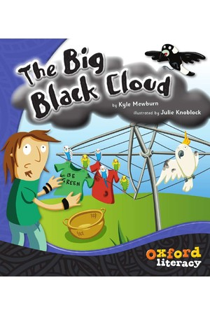 Oxford Literacy Guided Reading – Level 8 Fiction: The Big Black Cloud (Single Book)