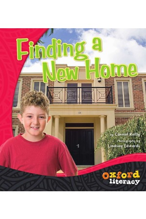 Oxford Literacy Guided Reading – Level 12-14 Non-Fiction: Finding A New Home (Single Book)