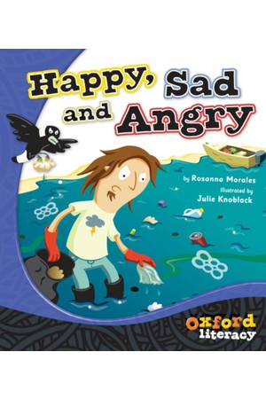 Oxford Literacy Guided Reading – Level 2 Fiction: Happy, Sad and Angry (Pack of 6)