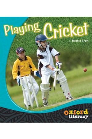 Oxford Literacy Guided Reading - Levels 1-2 Non-Fiction: Playing Cricket (Pack of 6)