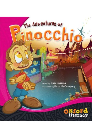 Oxford Literacy Guided Reading – Level 14 Fiction: The Adventures of Pinocchio (Single Book)