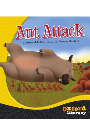 Oxford Literacy Guided Reading – Level 15 Fiction: Ant Attack! (Single Book)