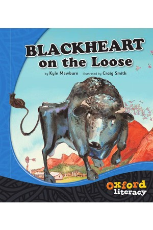 Oxford Literacy Guided Reading – Level 17 Fiction: Blackheart on the Loose (Single Book)